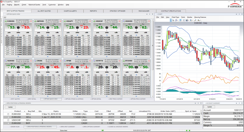 Options Trading Workspace